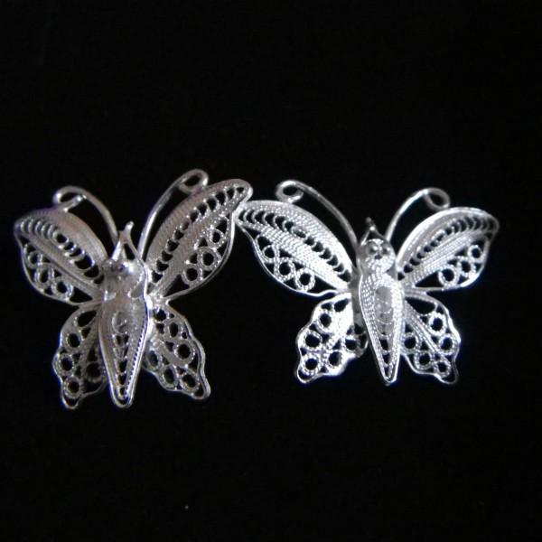 "Boucles oreille Wangdari ""papillon"""