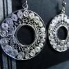 Boucles d'oreille pendantes BAHENOL